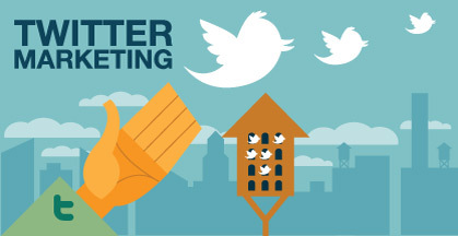 Twitter marketing weybridge